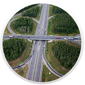 Объекты центральной кольцевая автомобильная дорога (ЦКАД)