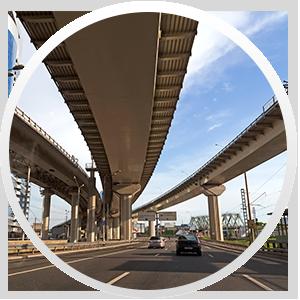 Строительство объектов третьего транспортного кольца (ТТК)